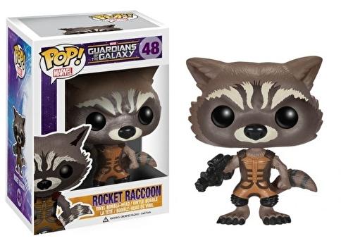 Funko Marvel GOTG Rocket Raccoon POP Renkli